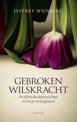 cover boek gebroken wilskracht afgeknakte tulp