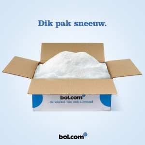 bol.com kerst sneeuw