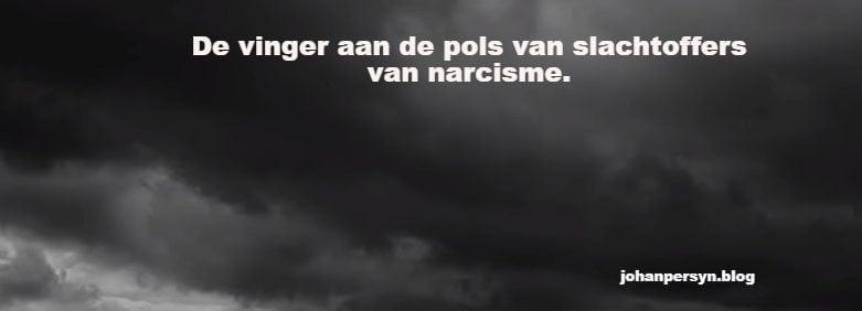 de vinger aan de pols van slachtoffers van narcisme Het mirakel van de transformatie van het Zelf.