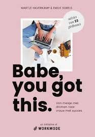 cover boek babe, you got this