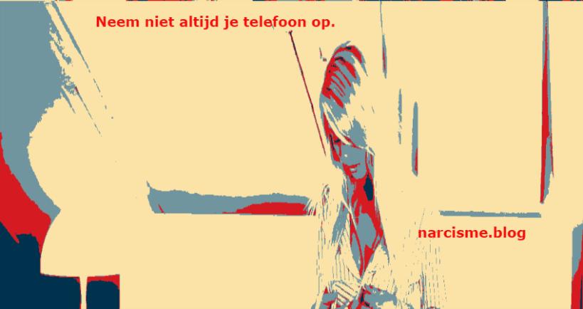 neem niet altijd je telefoon op