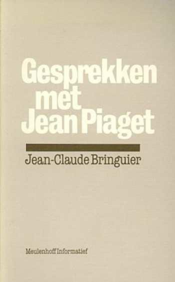 cover boek gesprekken met Jean Piaget