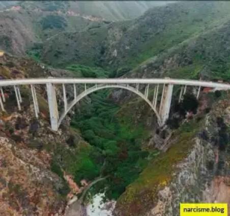 brug over een kloof in de bergen: Het beste van liefde validatie en eigenwaarde vind je niet bij een narcist.