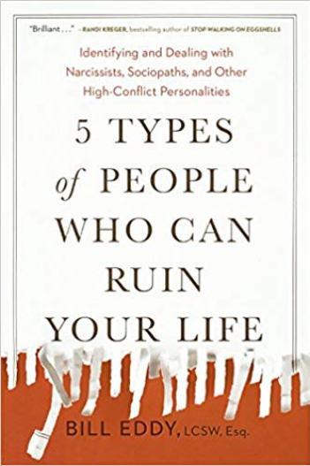 5 soorten mensen die je leven kunnen ruïneren Identificatie en omgang met narcisten, sociopaten en andere persoonlijkheden met een hoog conflict