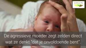 narcistische moeder gedragspatroon