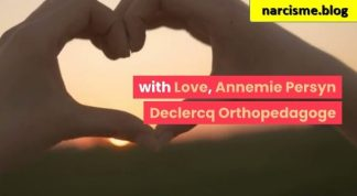 with love voor narcisme.blog