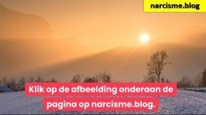 zonlicht op sneeuwlandschap voor narcisme.blog