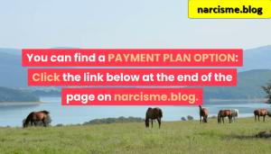 paarden rond het meer voor narcisme.blog