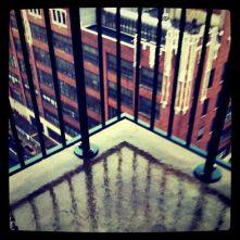 Wet porch