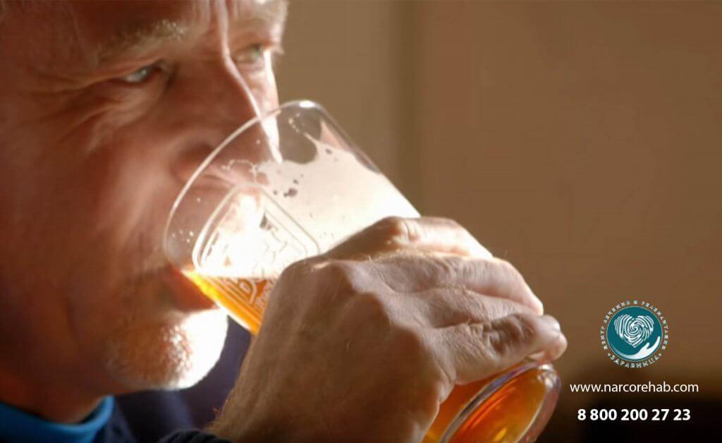الإسهال من الكحول