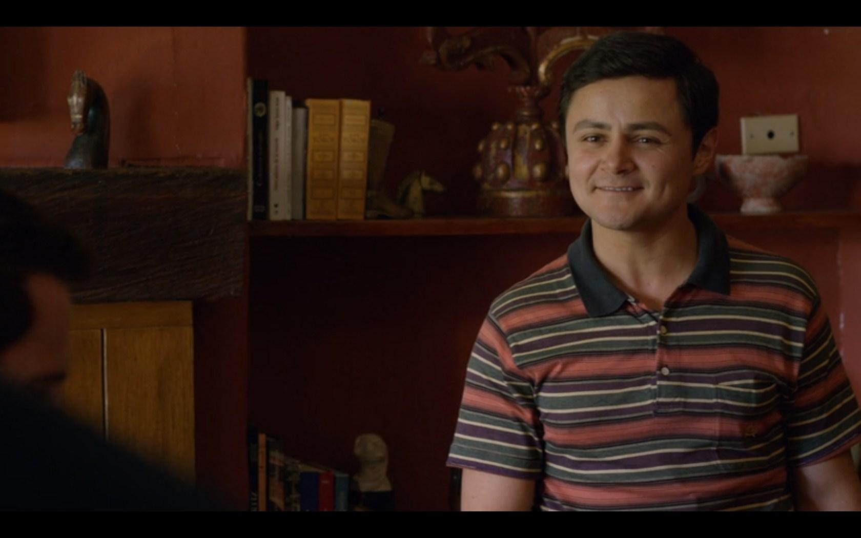 ダビド・ロドリゲス(David Rodriguez)俳優:アートゥロ・カストロ(Arturo Castro)