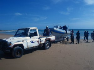 Diving Africa - Getting in - Tofo