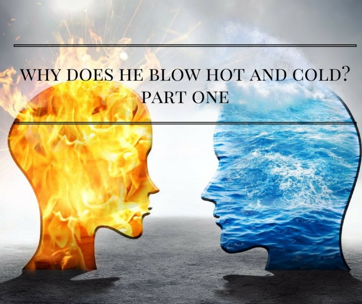 Why Does He Blow Hot and Cold? – Knowing the Narcissist : HG Tudor