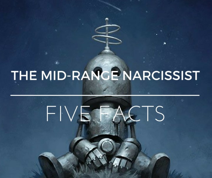 The Mid-Range Narcissist – Five Facts – Knowing the Narcissist : HG
