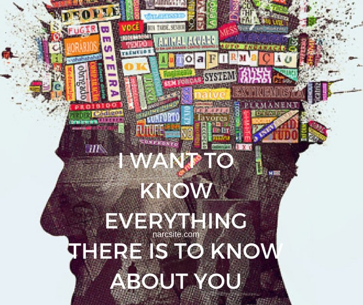 I WANT TOKNOWEVERYTHINGTHERE IS TO KNOW ABOUT YOU