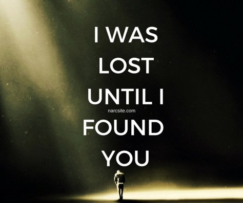 I WASLOSTUNTIL IFOUND YOU