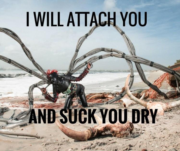 I WILL ATTACH YOU