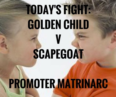 TODAY'S FIGHT_GOLDEN CHILDVSCAPEGOATPROMOTERMATRINARC