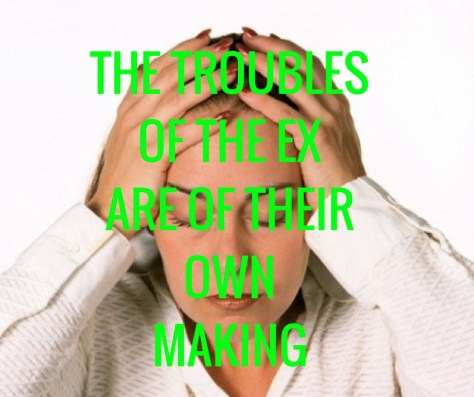 THE TROUBLESOF THE EXARE OF THEIROWNMAKING