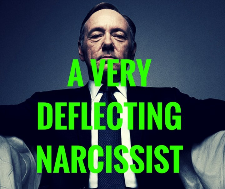 A VERY FORGETFULNARCISSIST