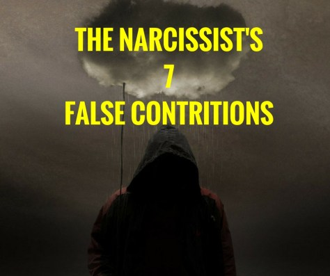 THE NARCISSIST'S7FALSE CONTRITIONS-2