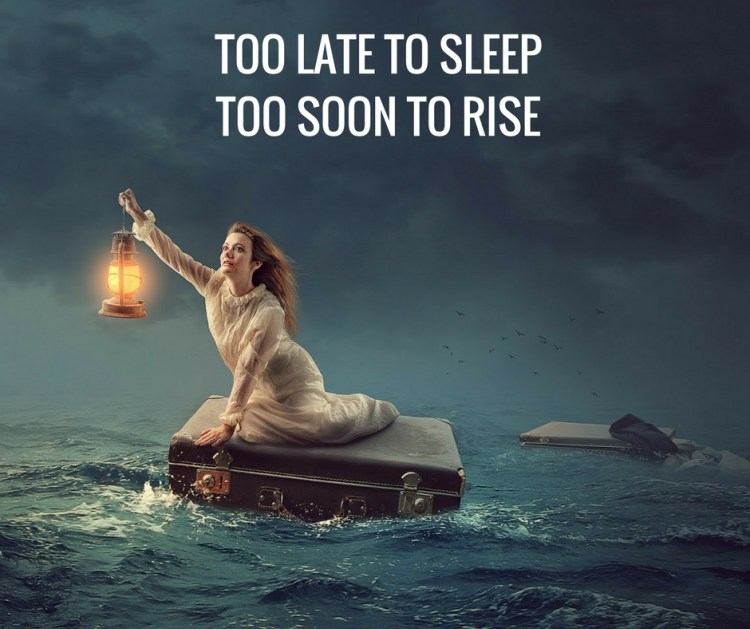 TOO LATE TO SLEEPTOO SOON TO RISE