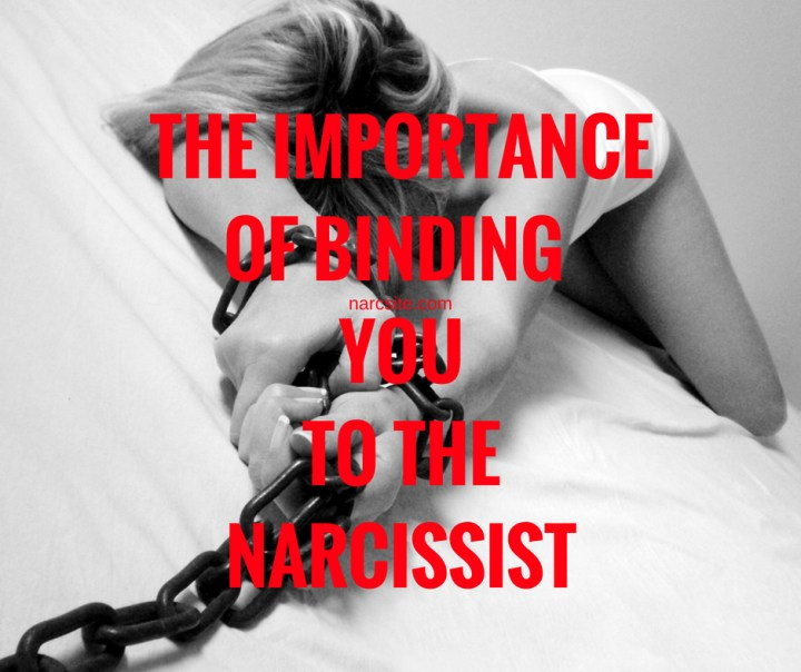 THE IMPORTANCEOF BINDING YOUTO THENARCISSIST