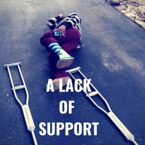 A LACKOF SUPPORT