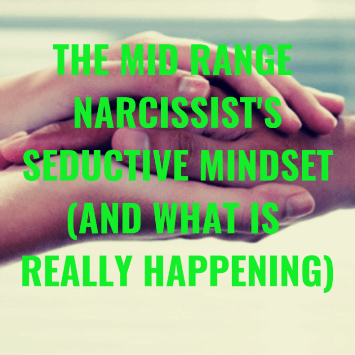 The Mid Range Narcissist's Seduction Mindset (And What Is