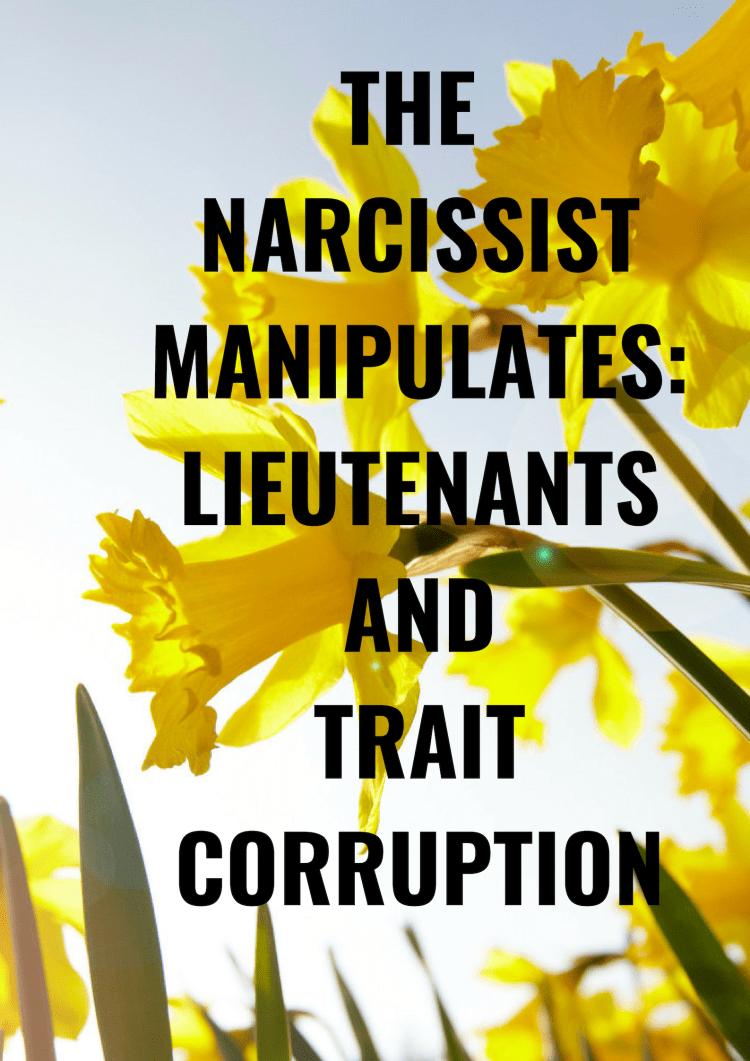 THE NARCISSIST MANIPULATES1