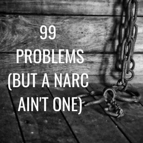 99 PROBLEMS (BUT A NARC AIN'T ONE)