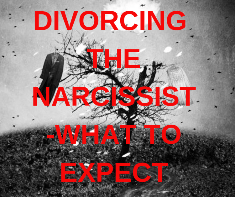 DIVORCING THE NARCISSIST -WHAT TO EXPECT