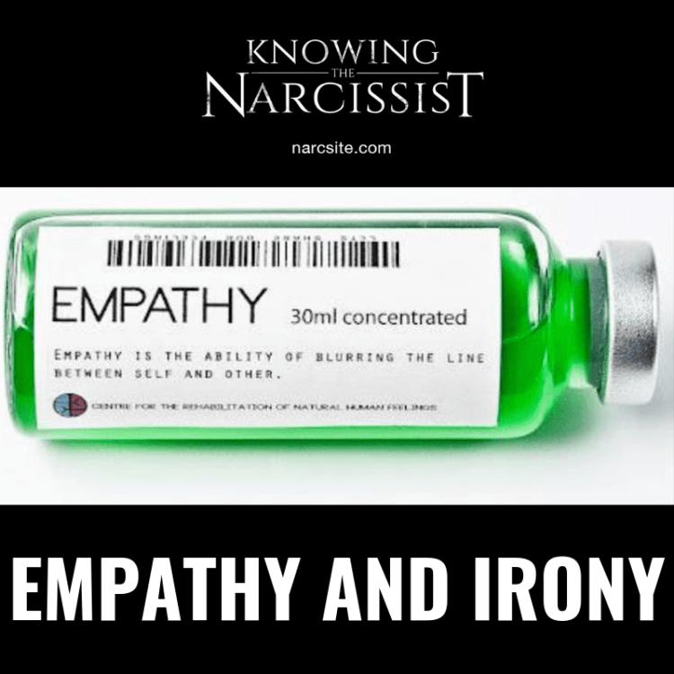 EMPATHY AND IRONY