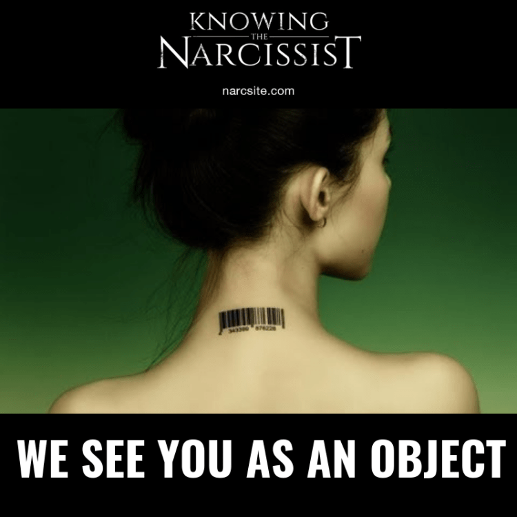 WE SEE YOU AS AN OBJECT