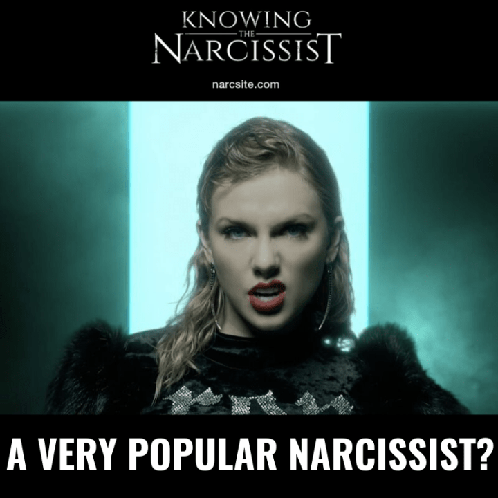 A VERY POPULAR NARCISSIST?