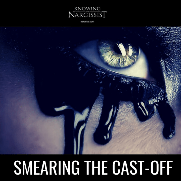 SMEARING THE CAST-OFF