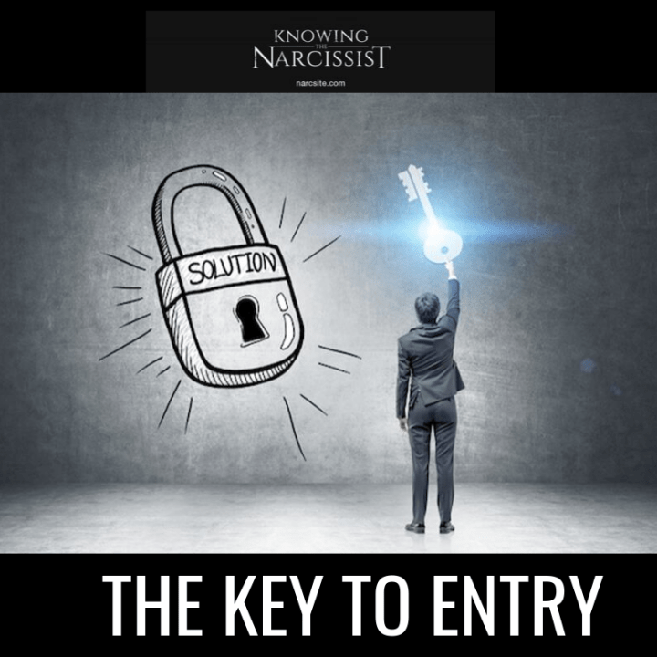 THE KEY TO ENTRY