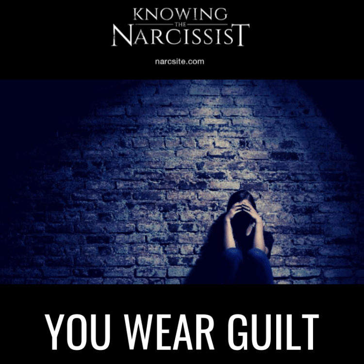 YOU WEAR GUILT