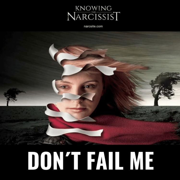 DON´T FAIL ME