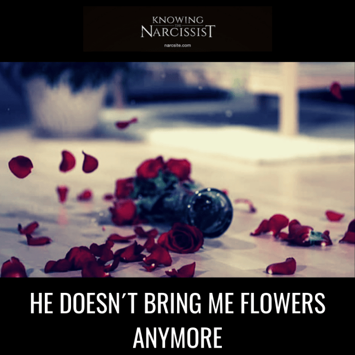 HE DOESN´T BRING ME FLOWERS ANYMORE