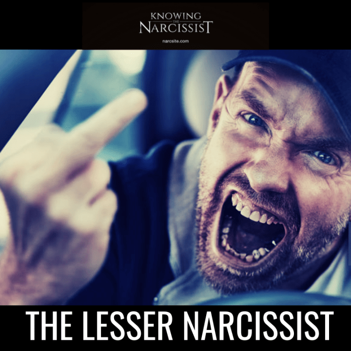 THE LESSER NARCISSIST