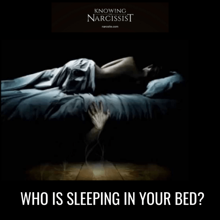 WHO IS SLEEPING IN YOUR BED?