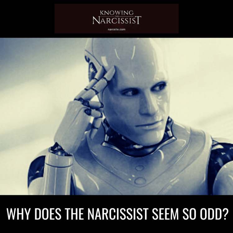WHY DOES THE NARCISSIST SEEM SO ODD?