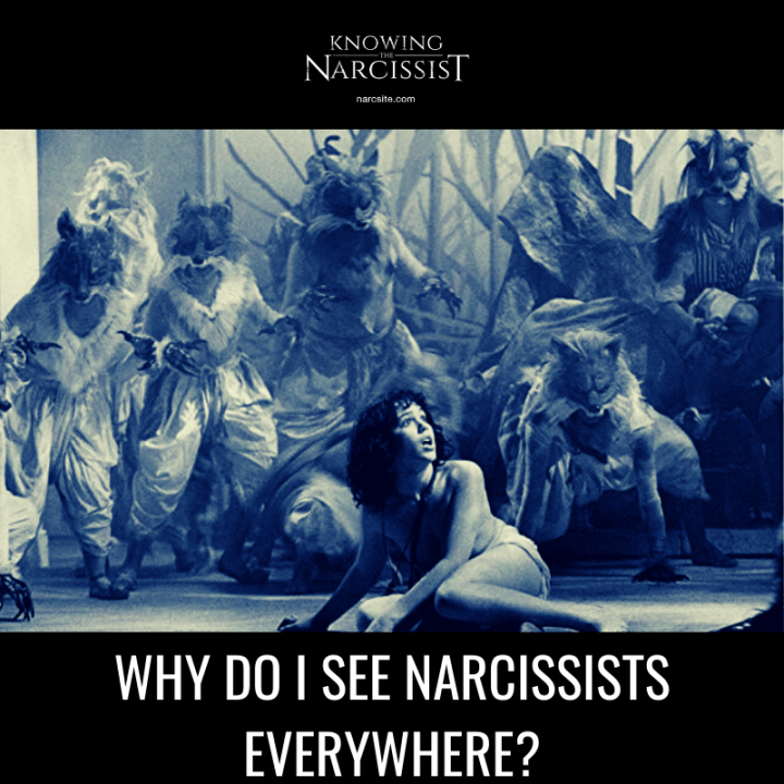 WHY DO I SEE NARCISSISTS EVERYWHERE?