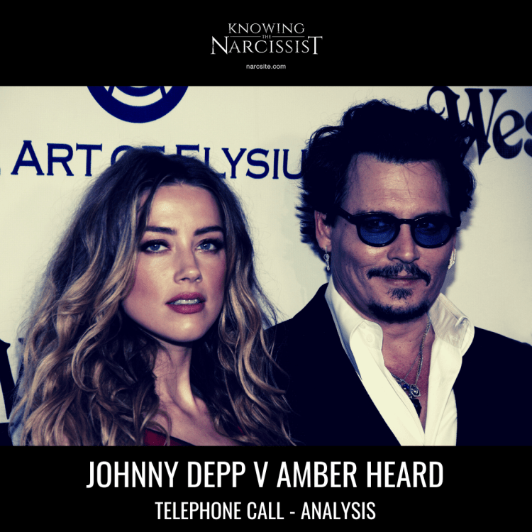 JOHNNY DEPP V AMBER HEARD TELEPHONE CALL - ANALYSIS
