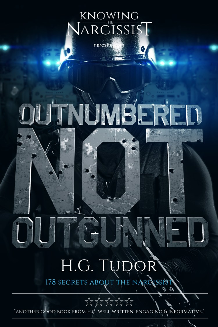 H.G Tudor - Outnumberd But Not Outgunned e-book cover 2