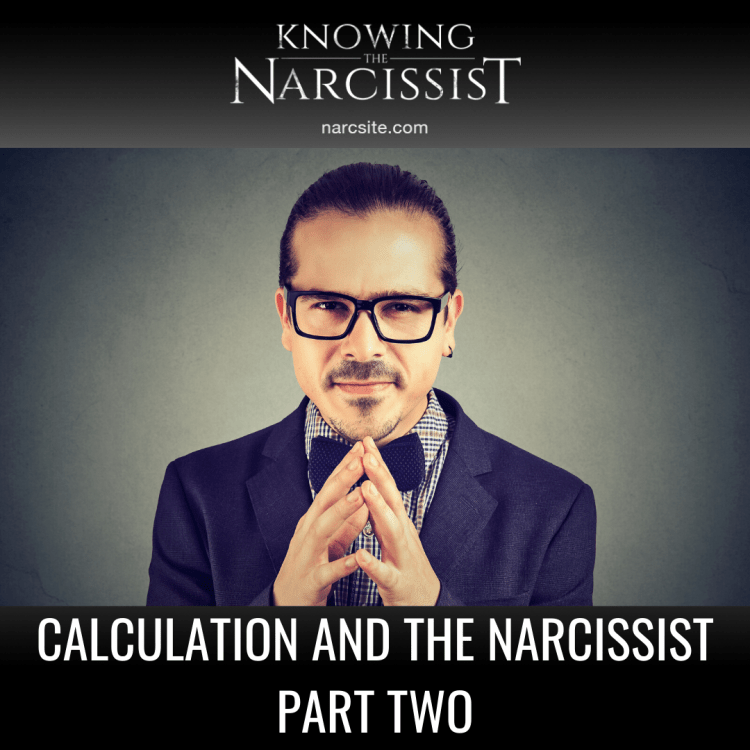 CALCULATION AND THE NARCISSIST PART TWO