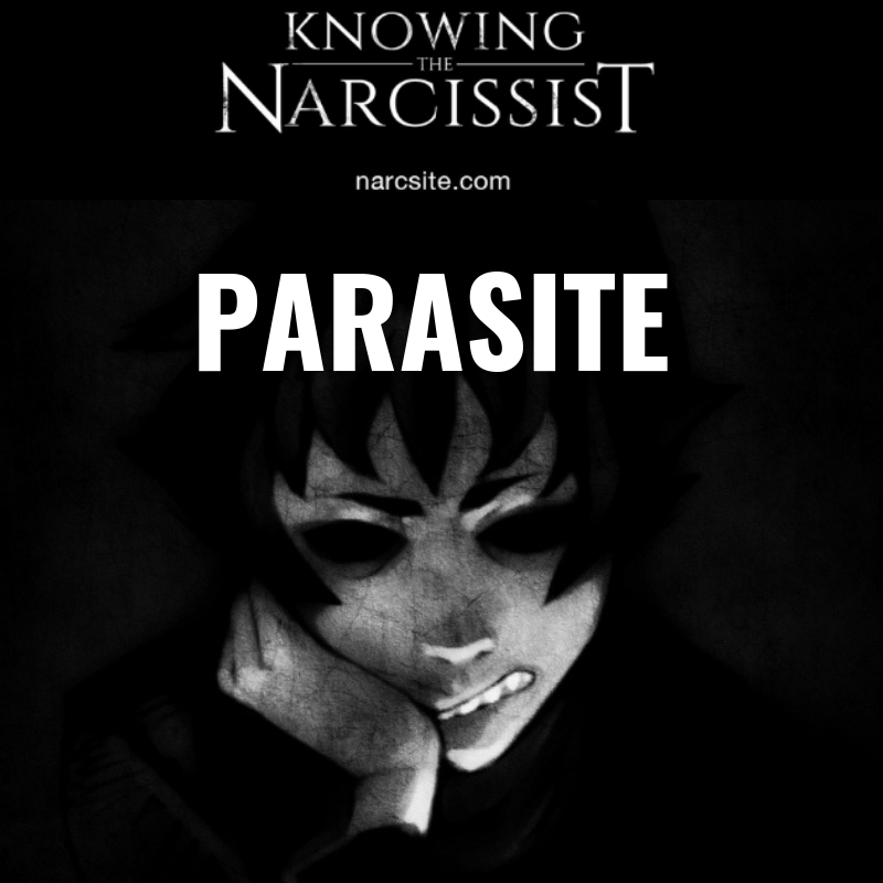 Narcissist parasitic lifestyle