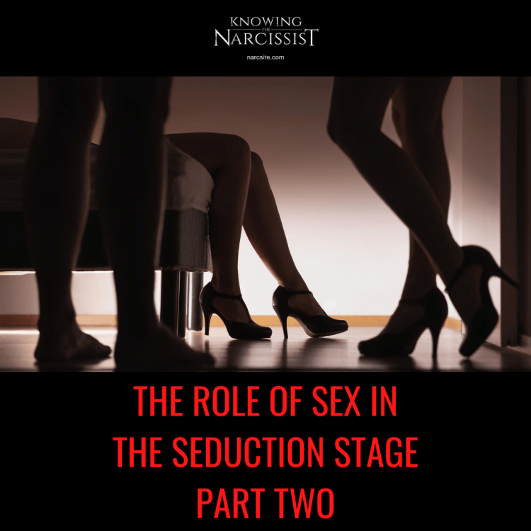 THE ROLE OF SEX IN THE SEDUCTION STAGE PART TWO