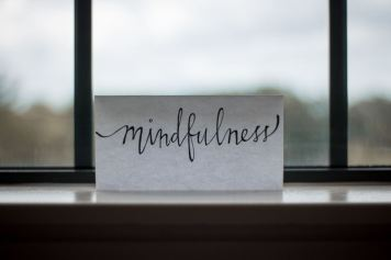 mindfulness moves you away from reacting